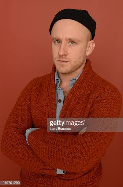 Actor Ben Foster poses for a portrait during the 2013 Sundance Film Festival at the Getty Images Portrait Studio at Village at the Lift on January 18...