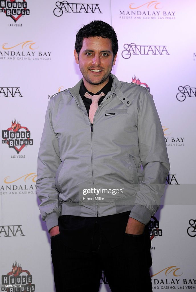 Actor Ben Gleib appears at the House of Blues inside the Mandalay Bay Resort & Casino following a mud ceremony for recording artist Carlos Santana May 4, 2012 in Las Vegas, Nevada. The ceremony involved combining dirt from the town of Clarksdale in the Mississippi Delta with dirt from Bethel, New York from the site of the Woodstock Festival and mud from Santana's hometown of Autlan de Navarro, Jalisco in Mexico to symbolize his two-year residency at the music venue.
