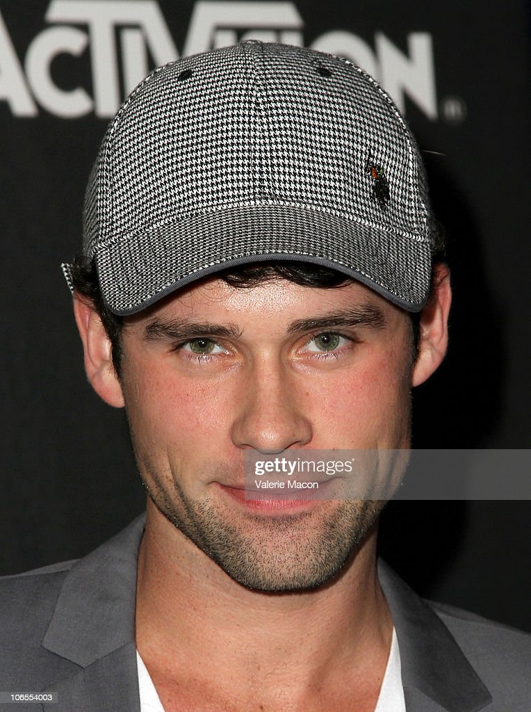 Actor Ben Hollingsworth arrives at Activision's 'The Call Of Duty Black Ops' Launch Party on November 4 2010 in Santa Monica California