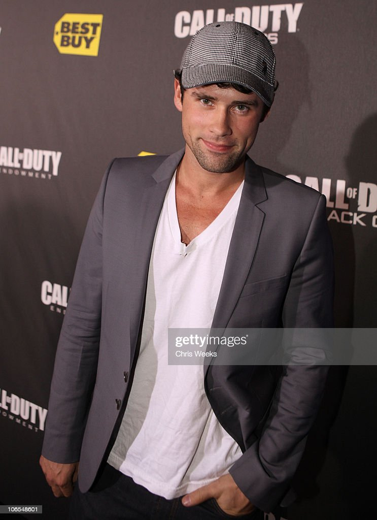 Actor Ben Hollingsworth arrives at the Call Of Duty Black Ops Launch Party held at Barker Hangar on November 4 2010 in Santa Monica California