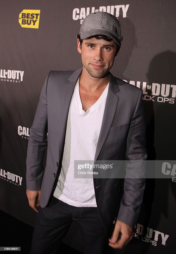 Actor <a gi-track='captionPersonalityLinkClicked' href=/galleries/search?phrase=Ben+Hollingsworth&family=editorial&specificpeople=5864084 ng-click='$event.stopPropagation()'>Ben Hollingsworth</a> arrives at the Call Of Duty: Black Ops Launch Party held at Barker Hangar on November 4, 2010 in Santa Monica, California.