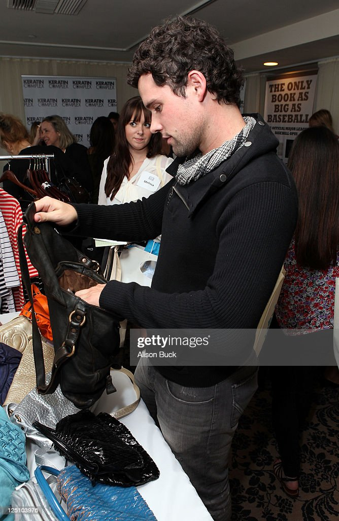 Actor Ben Hollingsworth attends Kari Feinstein Primetime Emmy Awards Style Lounge at the Mondrian Los Angeles on September 15 2011 in West Hollywood...