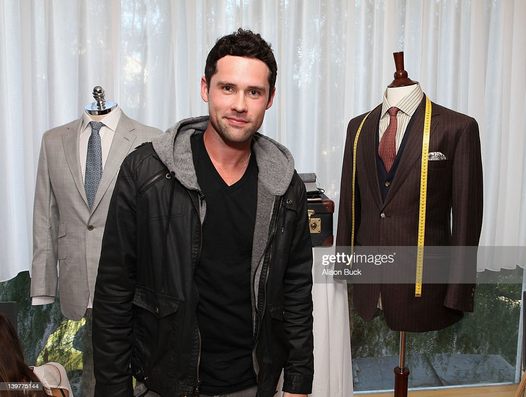 Actor Ben Hollingsworth attends Kari Feinstein's Oscars Style Lounge at Mondrian Los Angeles on February 24 2012 in West Hollywood California