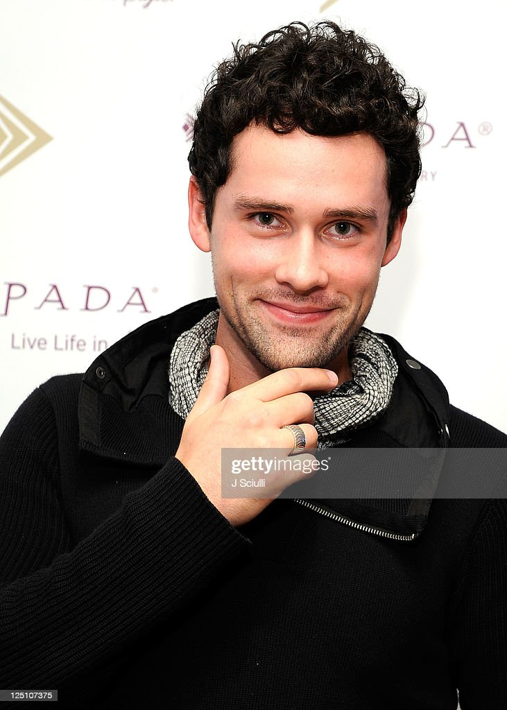 Actor Ben Hollingsworth poses with Silpada during Kari Feinstein Primetime Emmy Awards Style Lounge at the Mondrian Los Angeles on September 15 2011...