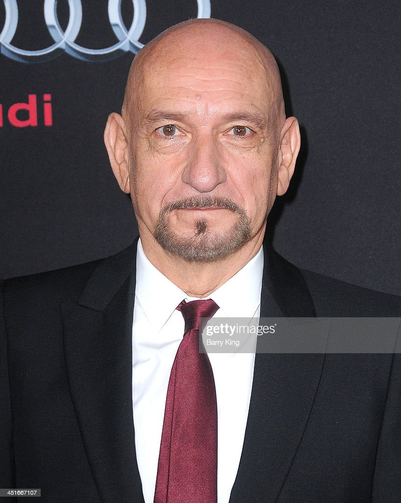 Actor Ben Kingsley arrives at the Los Angeles Premiere 'Ender's Game' on October 28 2013 at TCL Chinese Theatre in Hollywood California