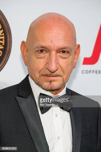 Actor Ben Kingsley attends Friars Club honors Martin Scorsese with Entertainment Icon Award at Cipriani Wall Street on September 21 2016 in New York...