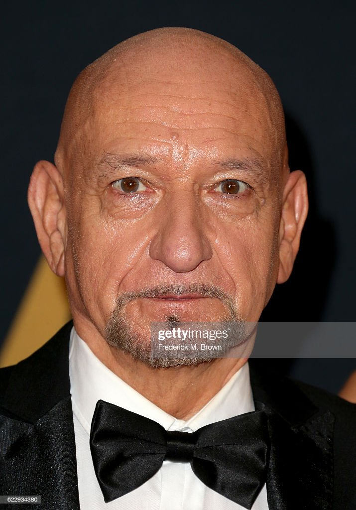 Actor Ben Kingsley attends the Academy of Motion Picture Arts and Sciences' 8th annual Governors Awards at The Ray Dolby Ballroom at Hollywood & Highland Center on November 12, 2016 in Hollywood, California.