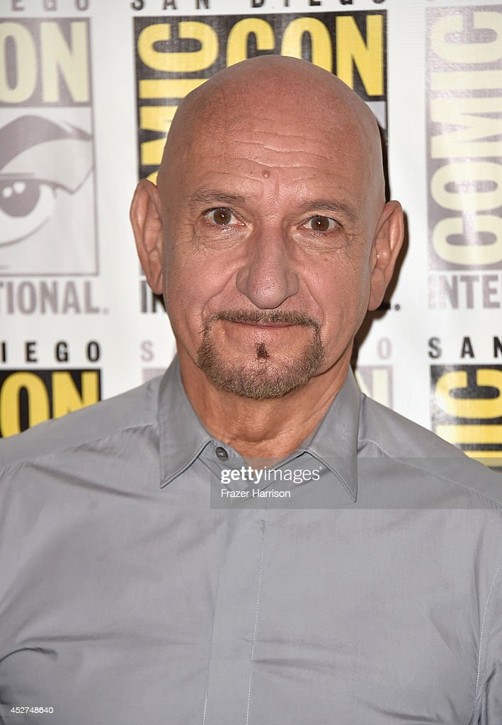 Actor Ben Kingsley attends 'The Boxtrolls' Press Line during Comic-Con International 2014 at Hilton Bayfront on July 26, 2014 in San Diego, California.