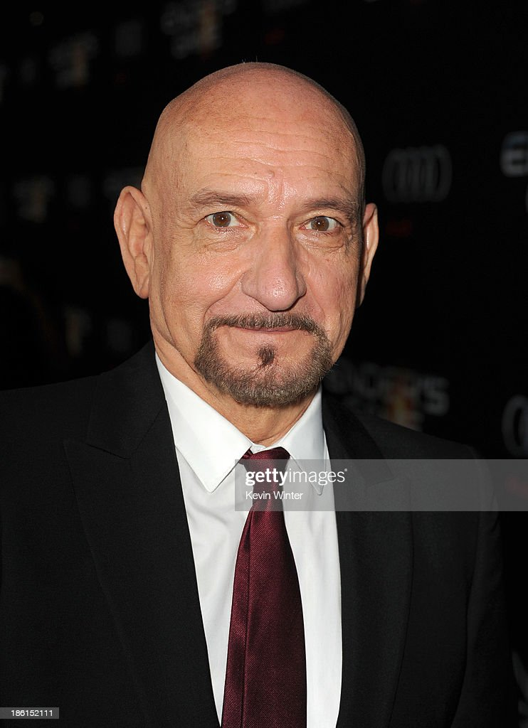 Actor Ben Kingsley attends the Premiere Of Summit Entertainment's 'Ender's Game' at TCL Chinese Theatre on October 28 2013 in Hollywood California