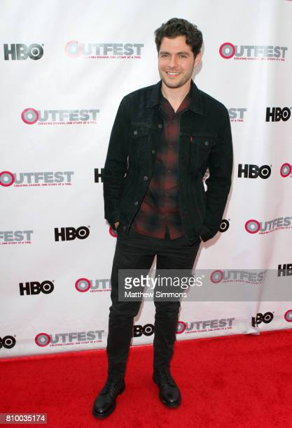 Actor Ben Lewis attends the opening night gala of 'God's Own Country' at the 2017 Outfest Los Angeles LGBT Film Festival at Orpheum Theatre on July 6...