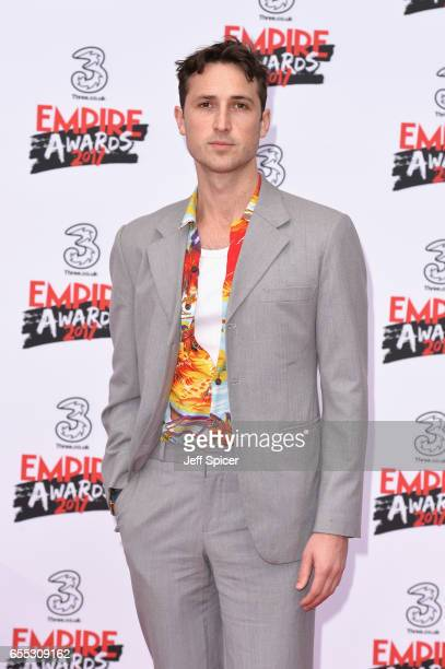 Actor Ben Lloyd Hughes attends the THREE Empire awards at The Roundhouse on March 19 2017 in London England