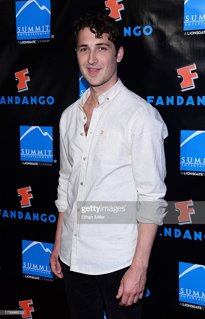 Actor Ben Lloyd-Hughes arrives at Summit Entertainment's press event for the movies 'Ender's Game' and 'Divergent' at the Hard Rock Hotel San Diego on July 18, 2013 in San Diego, California.