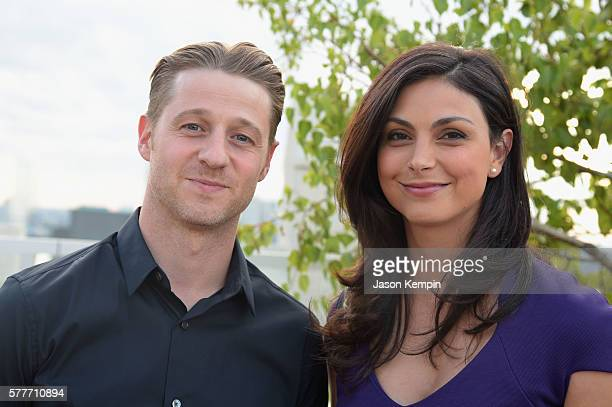Actor Ben McKenzie and Actress Morena Baccarin attend the 6th Annual GenR Summer Party hosted by International Rescue Committee on July 19 2016 in...