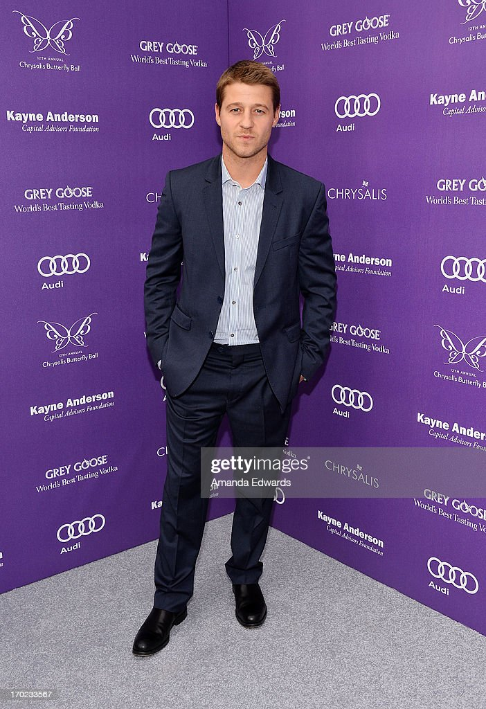 Actor Ben McKenzie arrives at the 12th Annual Chrysalis Butterfly Ball on June 8, 2013 in Los Angeles, California.