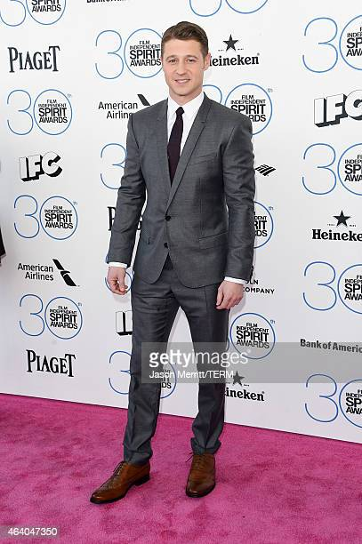 Actor Ben McKenzie attends the 2015 Film Independent Spirit Awards at Santa Monica Beach on February 21 2015 in Santa Monica California