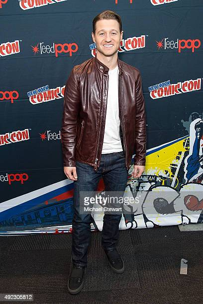 Actor Ben McKenzie poses in the press room for the 'Gotham' panel during ComicCon Day 4 at The Jacob K Javits Convention Center on October 11 2015 in...