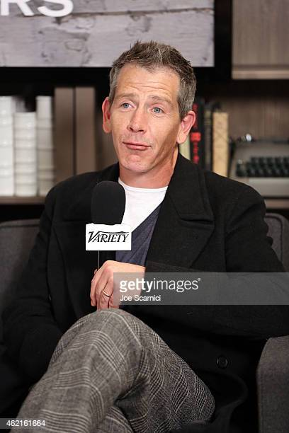 Actor Ben Mendelsohn attend The Variety Studio At Sundance Presented By Dockers on January 25 2015 in Park City Utah