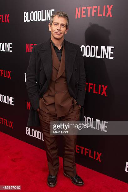 Actor Ben Mendelsohn attends the 'Bloodline' New York Series Premiere at SVA Theater on March 3 2015 in New York City
