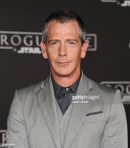 Actor Ben Mendelsohn attends the premiere of 'Rogue One A Star Wars Story' at the Pantages Theatre on December 10 2016 in Hollywood California
