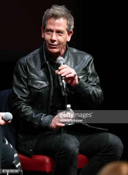 Actor Ben Mendelsohn speaks on stage during SAGAFTRA Foundation Conversations 'Darkest Hour' at SAGAFTRA Foundation Robin Williams Center on November...