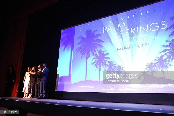 actor Ben O'Toole Director Catalina Aguilar actors Karla Souza and Jose Maria Yazpik attend the screening of 'Everybody Loves Somebody' during the...