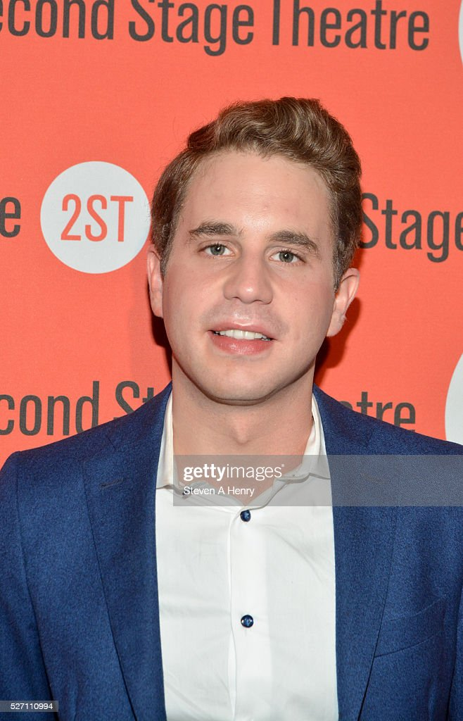 Actor <a gi-track='captionPersonalityLinkClicked' href=/galleries/search?phrase=Ben+Platt&family=editorial&specificpeople=822243 ng-click='$event.stopPropagation()'>Ben Platt</a> attends 'Dear Evan Hansen' opening night after party at John's Pizzeria on May 1, 2016 in New York City.