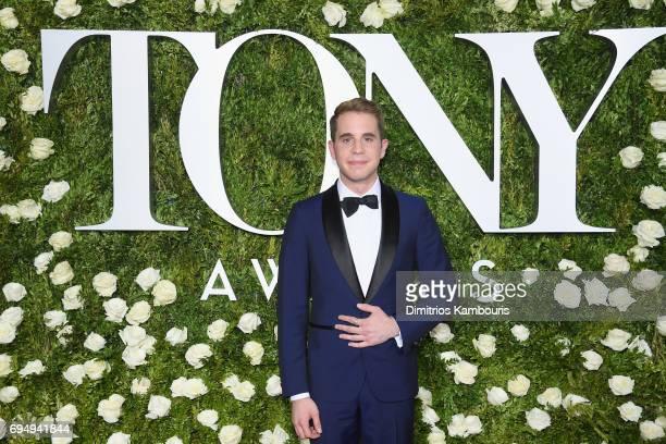 Actor Ben Platt attends the 2017 Tony Awards at Radio City Music Hall on June 11 2017 in New York City