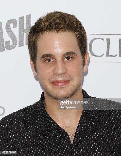 Actor Ben Platt attends the 'Ricki And The Flash' New York premiere at AMC Lincoln Square Theater on August 3 2015 in New York City