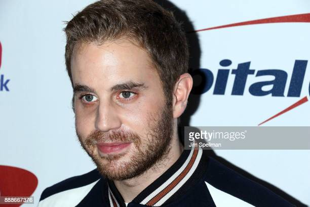 Actor Ben Platt attends the Z100's iHeartRadio Jingle Ball 2017 at Madison Square Garden on December 8 2017 in New York City