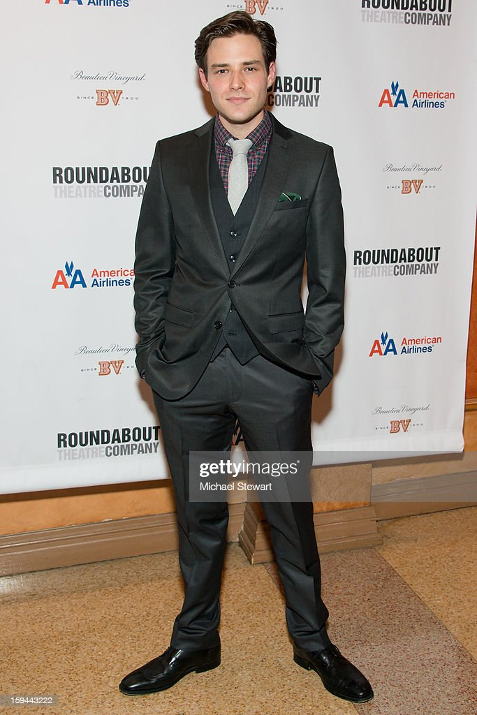 Actor <a gi-track='captionPersonalityLinkClicked' href=/galleries/search?phrase=Ben+Rappaport&family=editorial&specificpeople=6964716 ng-click='$event.stopPropagation()'>Ben Rappaport</a> attends 'Picnic' Broadway Opening Night at American Airlines Theatre on January 13, 2013 in New York City.