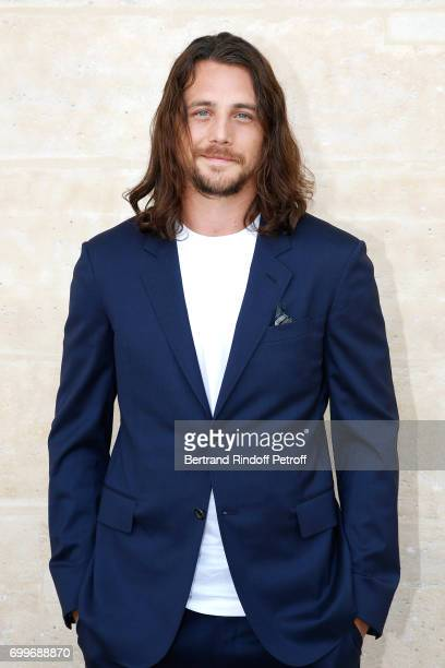Actor Ben Robson attends the Louis Vuitton Menswear Spring/Summer 2018 show as part of Paris Fashion Week on June 22 2017 in Paris France