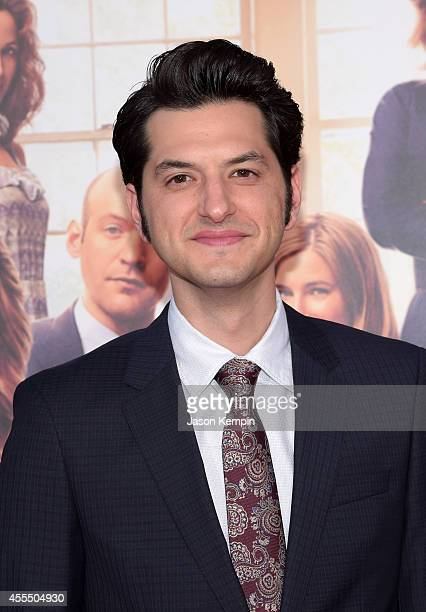 Actor Ben Schwartz arrives at the premiere of Warner Bros Pictures' 'This Is Where I Leave You' at TCL Chinese Theatre on September 15 2014 in...