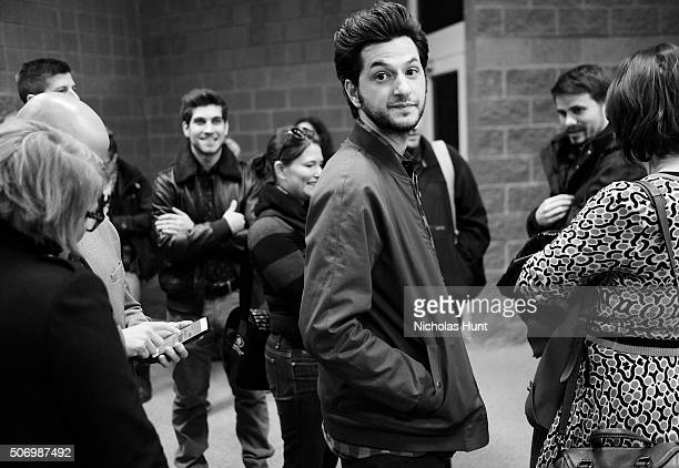 Actor Ben Schwartz attend the 'The Intervention' Premiere during the 2016 Sundance Film Festival at Eccles Center Theatre on January 26 2016 in Park...