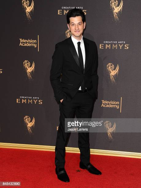 Actor Ben Schwartz attends the 2017 Creative Arts Emmy Awards at Microsoft Theater on September 10 2017 in Los Angeles California