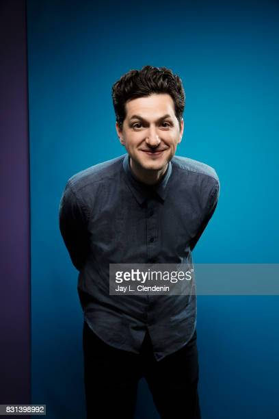 Actor Ben Schwartz from the television series 'DuckTales' is photographed in the LA Times photo studio at ComicCon 2017 in San Diego CA on July 21...