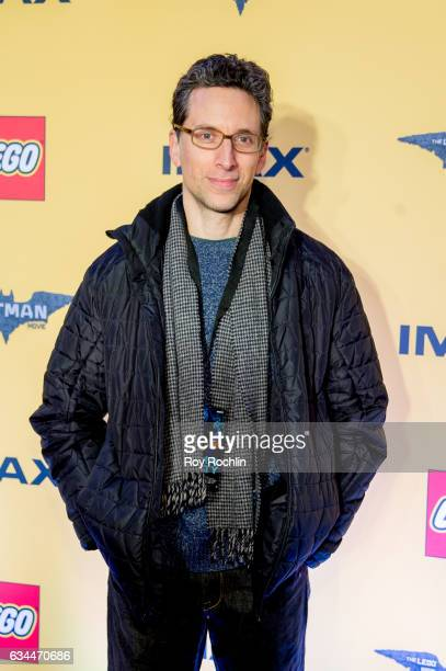 Actor Ben Shenkman attends 'The Lego Batman Movie' New York Screening at AMC Loews Lincoln Square 13 on February 9 2017 in New York City
