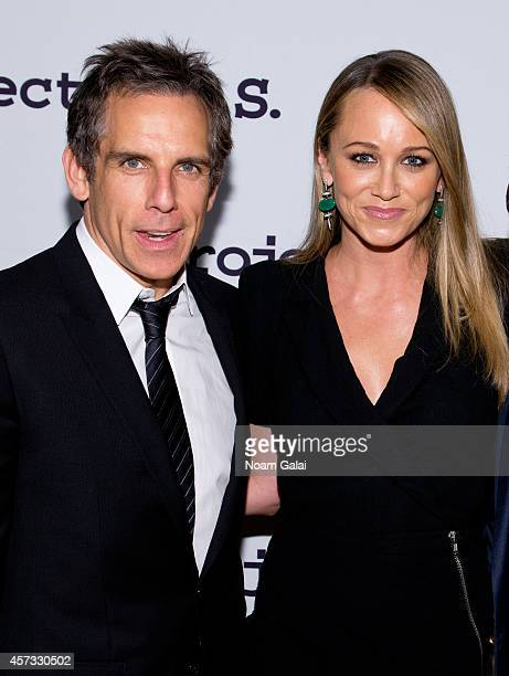 Actor Ben Stiller and actress Christine Taylor attend the 16th Annual Tomorrow Is Tonight Gala Benefiting Project ALS at Cipriani 42nd Street on...