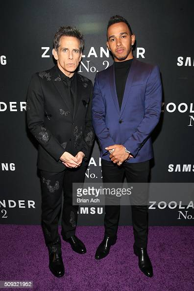 ¿Cuánto mide Ben Stiller? - Real height Actor-ben-stiller-and-formula-one-driver-lewis-hamilton-attend-the-picture-id509321952?s=594x594