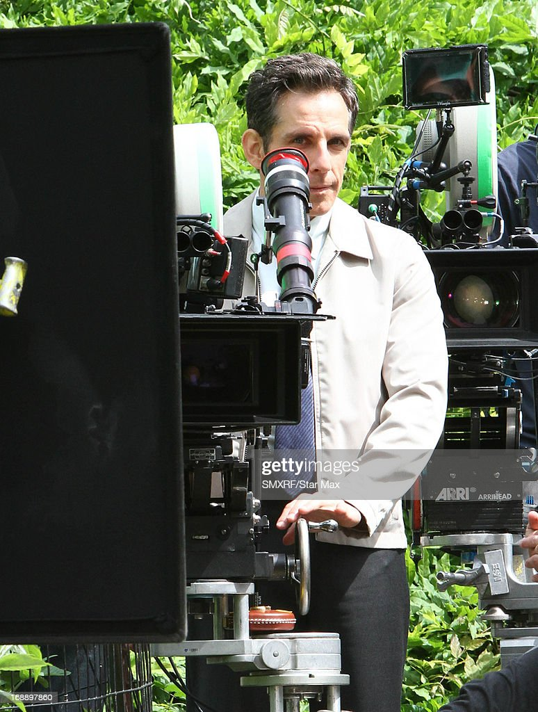 Actor <a gi-track='captionPersonalityLinkClicked' href=/galleries/search?phrase=Ben+Stiller&family=editorial&specificpeople=201806 ng-click='$event.stopPropagation()'>Ben Stiller</a> as seen on the set of 'The Secret Life of Walter Mitty' on May 16, 2013 in New York City