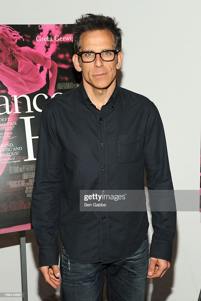 Actor <a gi-track='captionPersonalityLinkClicked' href=/galleries/search?phrase=Ben+Stiller&family=editorial&specificpeople=201806 ng-click='$event.stopPropagation()'>Ben Stiller</a> attends 'Frances Ha' New York Premiere at MOMA on May 9, 2013 in New York City.