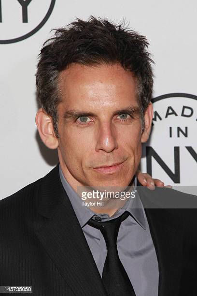 Actor Ben Stiller attends the 2012 Made In NY Awards at Gracie Mansion on June 4 2012 in New York City