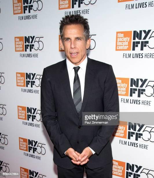 Actor Ben Stiller attends the 55th New York Film Festival screening of 'Meyerowitz Stories' at Alice Tully Hall on October 1 2017 in New York City
