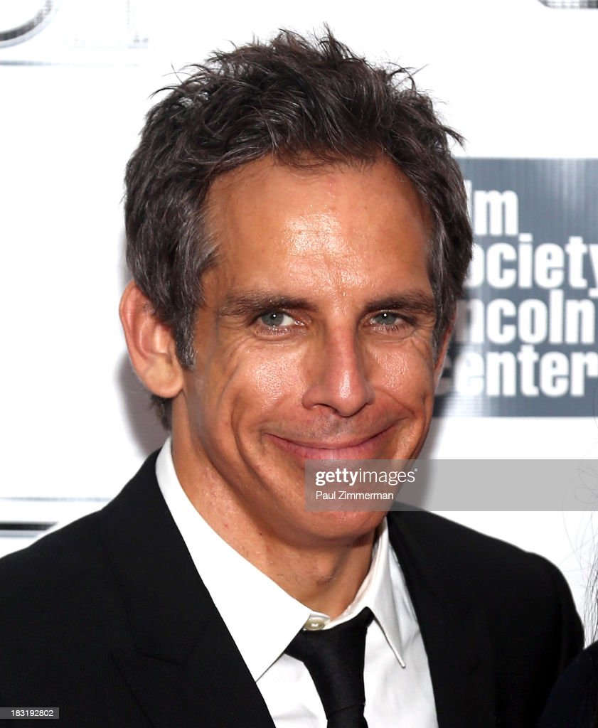 Actor <a gi-track='captionPersonalityLinkClicked' href=/galleries/search?phrase=Ben+Stiller&family=editorial&specificpeople=201806 ng-click='$event.stopPropagation()'>Ben Stiller</a> attends the Centerpiece Gala Presentation Of 'The Secret Life Of Walter Mitty' premiere during the 51st New York Film Festival at Alice Tully Hall at Lincoln Center on October 5, 2013 in New York City.