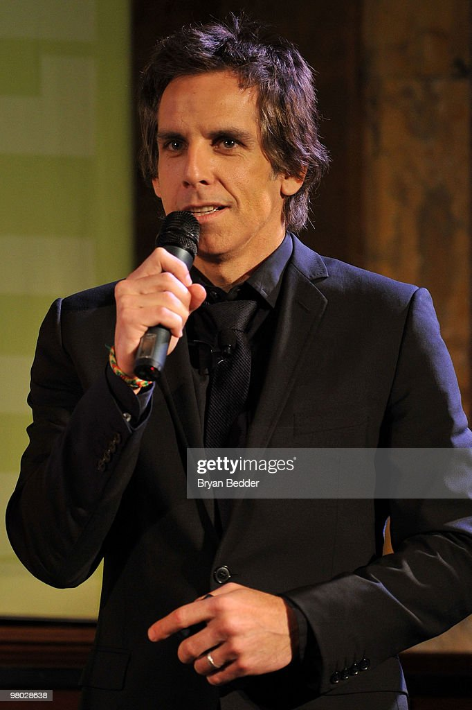 Actor Ben Stiller attends the George Carlin Tribute hosted by Whoopi Goldberg at the New York Public Library - Celeste Bartos Forum on March 24, 2010 in New York City.