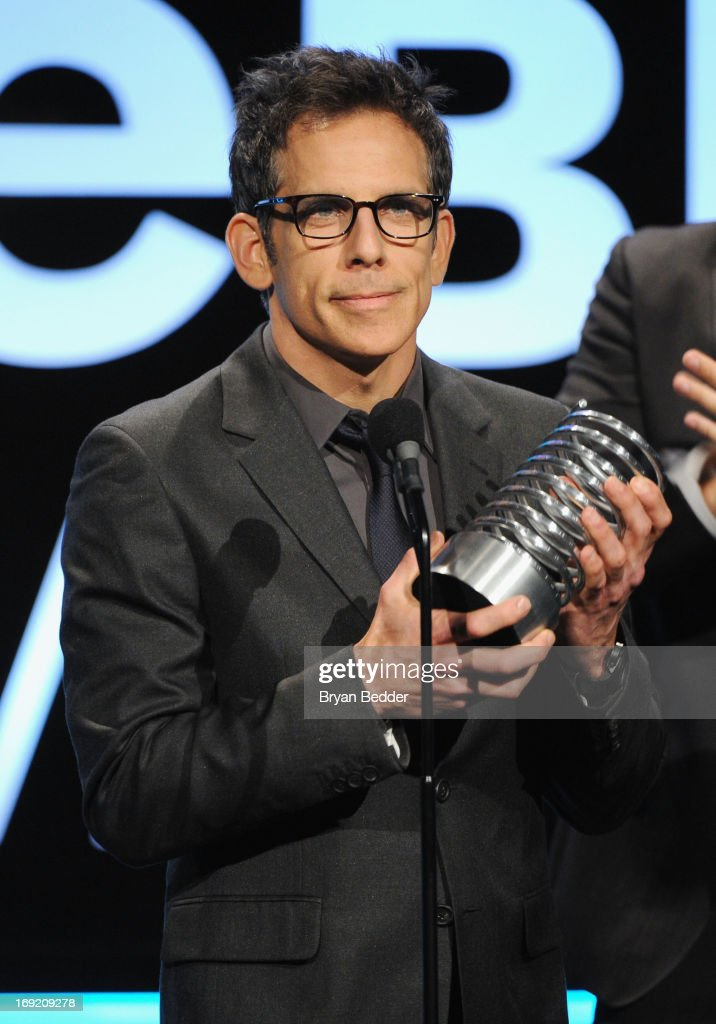 Actor <a gi-track='captionPersonalityLinkClicked' href=/galleries/search?phrase=Ben+Stiller&family=editorial&specificpeople=201806 ng-click='$event.stopPropagation()'>Ben Stiller</a> speaks onstage at the 17th Annual Webby Awards at Cipriani Wall Street on May 21, 2013 in New York City.