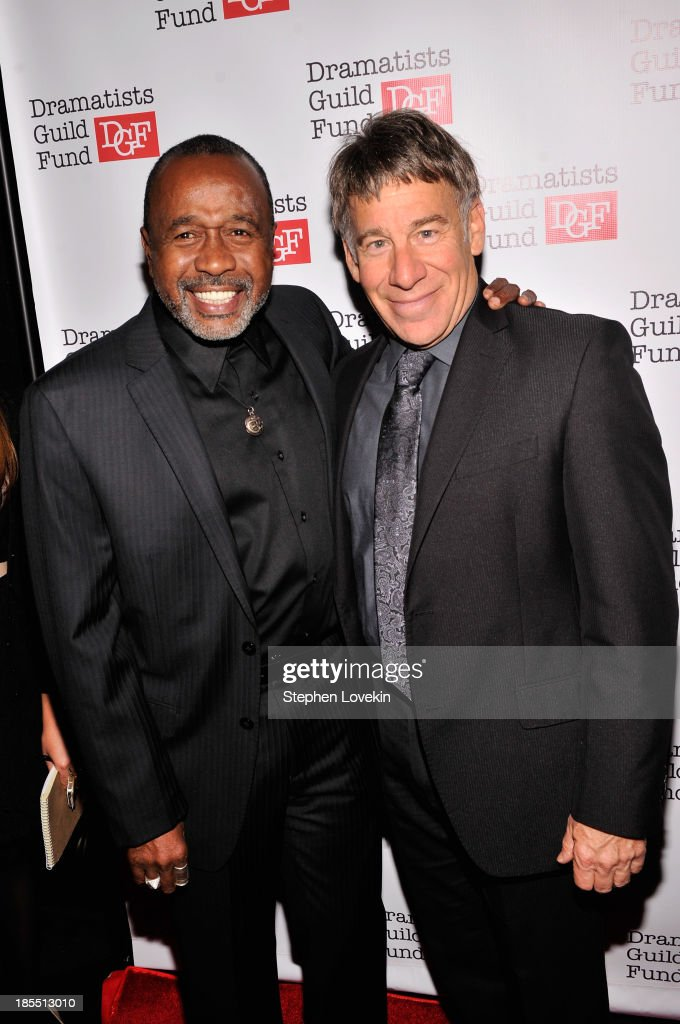 Actor Ben Vereen and composer Stephen Schwartz attend the Great Writers Thank Their Lucky Stars annual gala hosted by The Dramatists Guild Fund on October 21, 2013 in New York City.