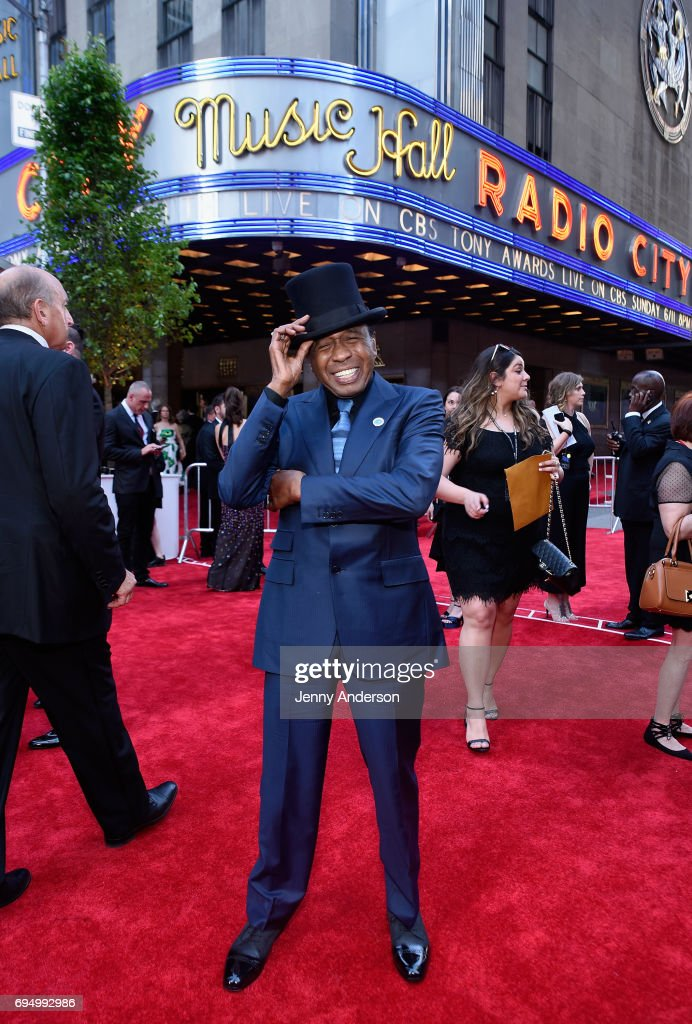 Actor Ben Vereen attends the 2017 Tony Awards at Radio City Music Hall on June 11, 2017 in New York City.