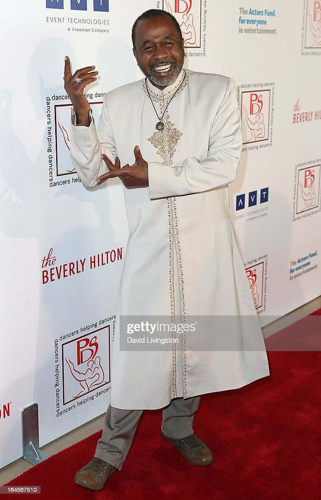 Actor <a gi-track='captionPersonalityLinkClicked' href=/galleries/search?phrase=Ben+Vereen&family=editorial&specificpeople=241224 ng-click='$event.stopPropagation()'>Ben Vereen</a> attends the Professional Dancers Society's Gypsy Awards Luncheon at The Beverly Hilton Hotel on March 24, 2013 in Beverly Hills, California.
