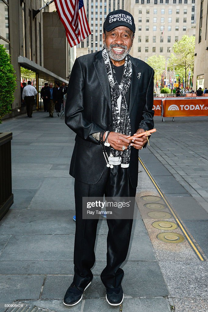 Actor Ben Vereen leaves the 'Today Show' taping at the NBC Rockefeller Center Studios on May 11 2016 in New York City