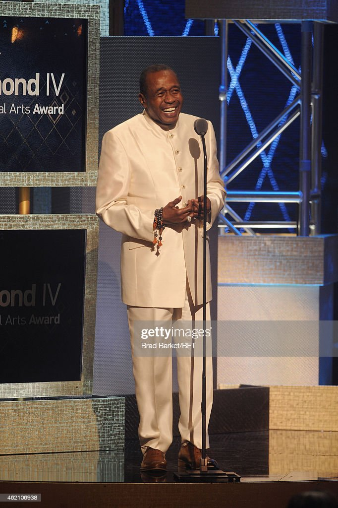 Actor Ben Vereen speaks onstage during 'The BET Honors' 2015 at Warner Theatre on January 24 2015 in Washington DC